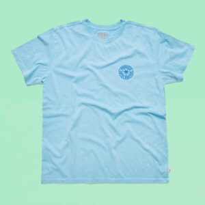 Locally roasted coffee beans St Petersburg FL Blue Shirt