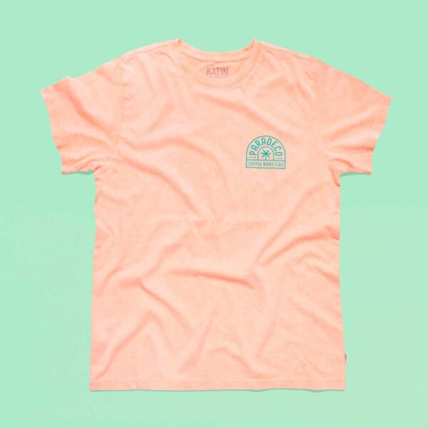 Locally roasted coffee beans St Petersburg FL Pink Shirt