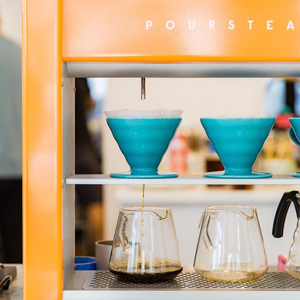 Pour over coffee guide St Petersburg FL Poursteady Pour Over