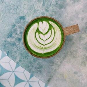 Whole bean coffee roasters St Petersburg FL Matcha Latte