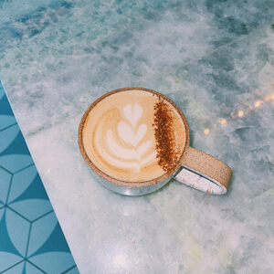 Locally roasted coffee beans St Petersburg FL Chai Latte